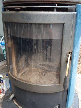 Estufa de leña Nordica hierro fundido