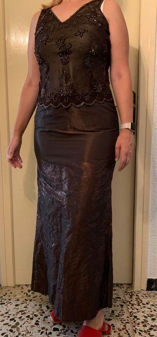 Top y falda de fiesta