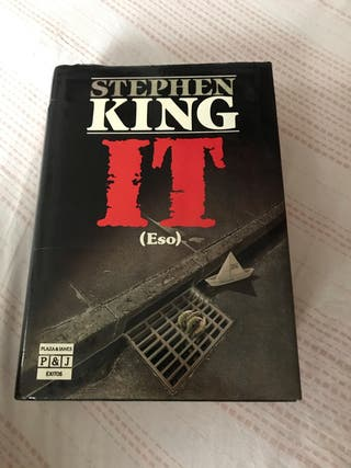 Libro IT (ESO) de Stephen King Tapa Dura