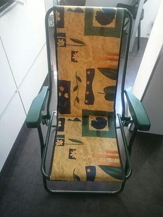 3 tumbona reclinable