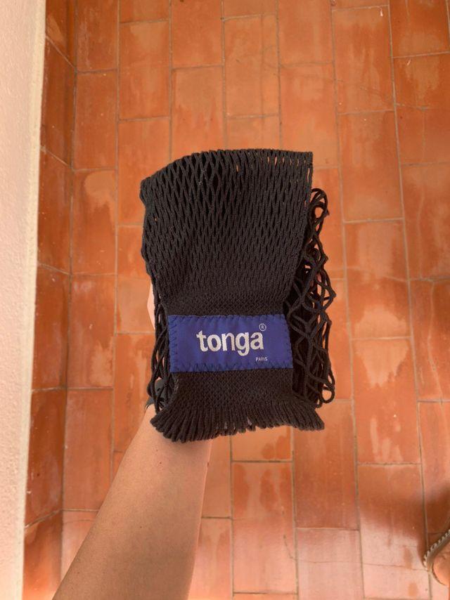 Portatabebé lateral de la Marca Tonga Negro