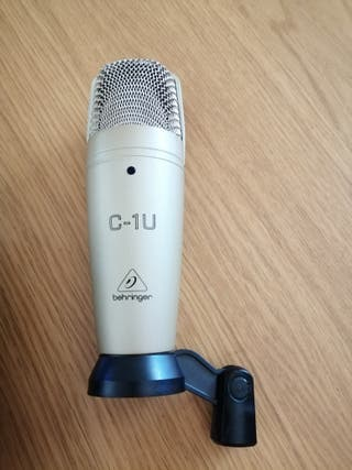 Micrófono de grabacion