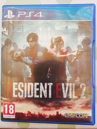 VIDEOJUEGO RESIDENT EVIL 2 PS4 NUEVO