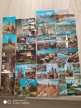 25 postales de Barcelona años 60