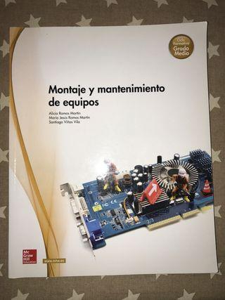 Libros de Grado medio de Informática y electronica