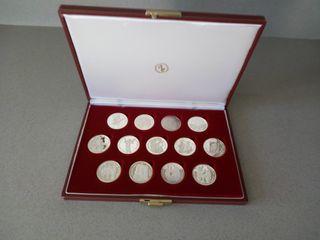 Colleccion Monedas Plata FINA 1000/1000