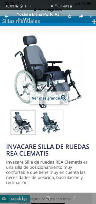 Invacare Silla de Ruedas Rea Clematis