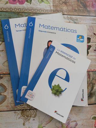 Libros Matemáticas 6° Primaria