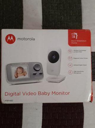 DIGITAL VIDEO BABY MOMITOR MBP482 MOTOROLA NUEVO!!
