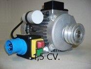 Motor Hormigonera 1,5 CV Monofásico