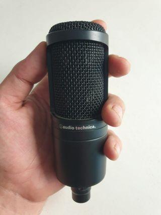 Microfono de condensador Audio-Technica P48AT2020