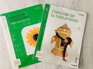 LIBROS 5 PRIMARIA (Ciencias de la Naturaleza)