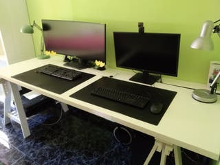 Mesa despacho blanca