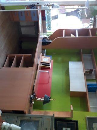 Mesa de estudio arcón zaparero+ cajonera 4c 3 esta