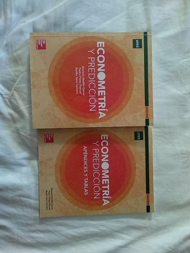 Libro Econometría y predicción (UNED)