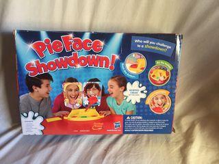 Pieface showdown