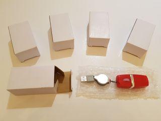 Lote 5 ratones con cable usb retráctil