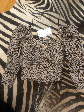 Top Zara leopardo