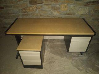 mesa despacho y cajonera
