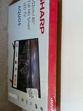 """SHARP 102cm-40"""" Full HD Smart LED TV"""
