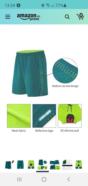 Pantalón corto de Ciclismo