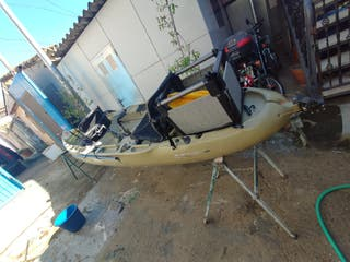 kayak hobie a pedales