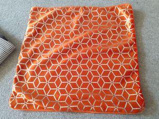 orange pillowcase