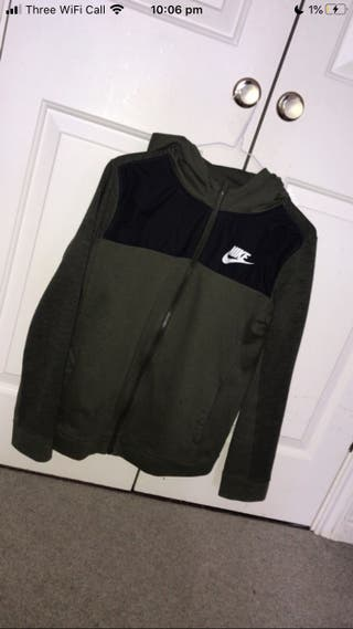 Nike hoodie Khaki Green/Black