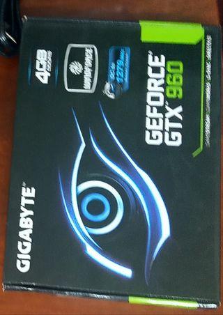 Gigabyte GeForce GTX 960 oc 4gb ddr5