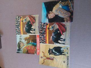 Tres postales del Corobes