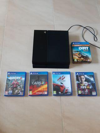 PS4 y 5 juegos