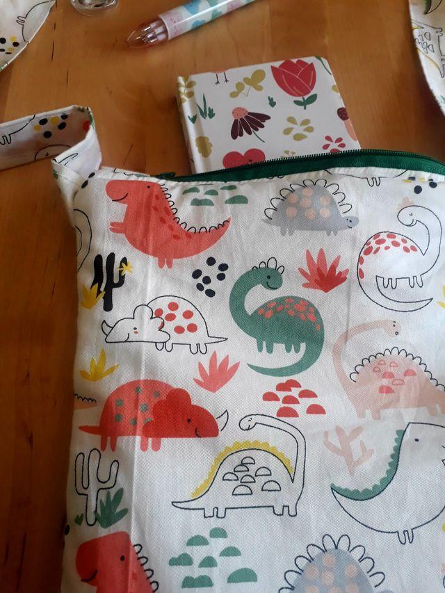 Bandolera niñ@s dinosaurios
