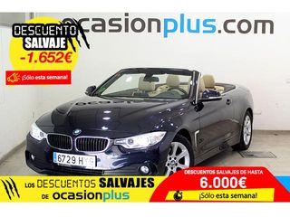 BMW Serie 4 420d Cabrio 135 kW (184 CV)
