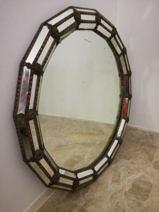 Espejo antiguo de estilo veneciano