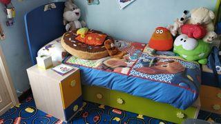 Cuna evolutiva de 2 a 14 años cama niño