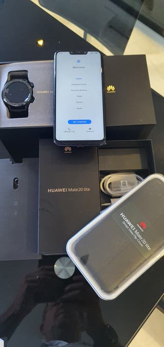 Huawei P20 lite con GT rejo