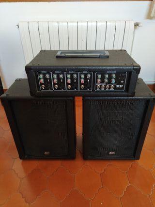 Amplificador de guitarra XP