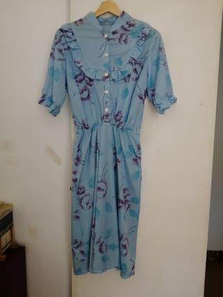 vestido de los años 70