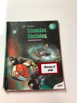 Libro ciencias sociales 5º Edelvives