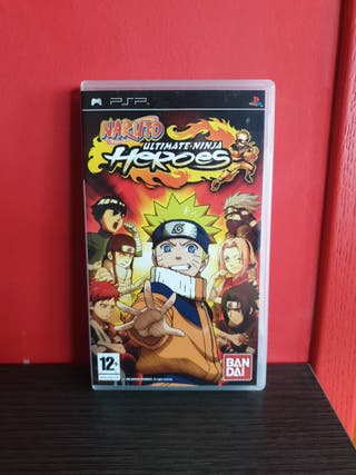 Juego Naruto Ultimate Ninja Heroes para PSP