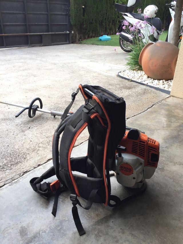 Desbrozadora de mochila stihl 460