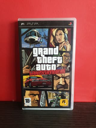 Juego GTA Liberty City Stories para PSP