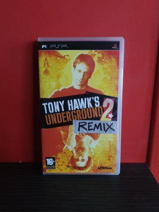 Juego Tony Hawk's Underground 2 Remix para PSP
