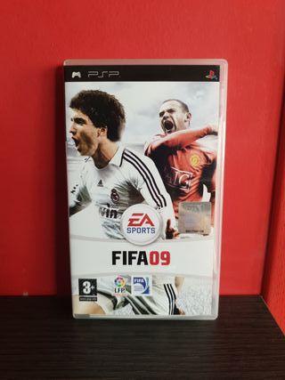 Juego Fifa 09 para PSP