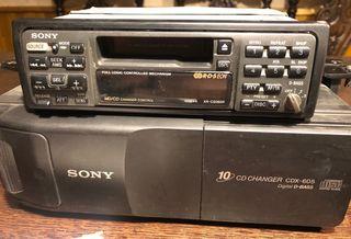Sony XR-C5080R + CDX-605