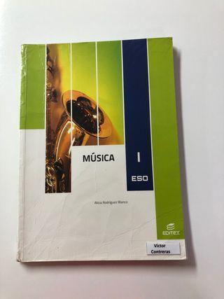 Libro Música 1º ESO EDITEX