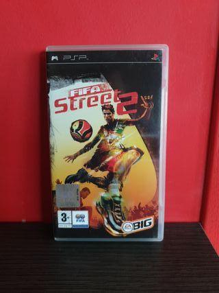 Juego Fifa Street 2 para PSP