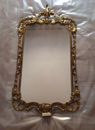 2 espejos de bronce a 100€