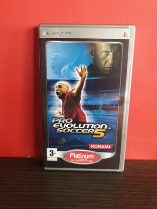 Juego Pro Evolution Soccer 5 para PSP