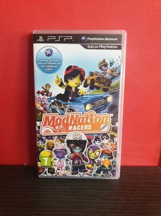 Juego Mod Nation Racers para PSP